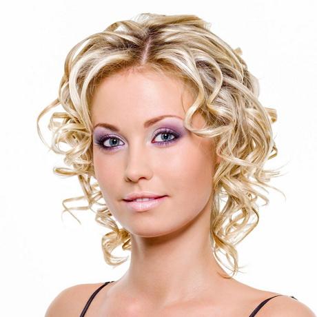 Dauerwelle Kurzes Haar