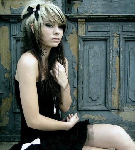 Heiße Mädchen Emo Haare