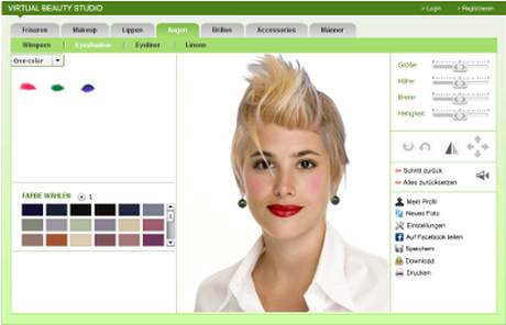 beautystudio24 portal kostenloser online frisurentester. Black Bedroom Furniture Sets. Home Design Ideas