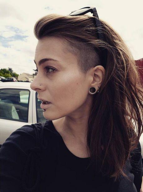 Sidecut bei langen haaren