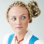 Coole dirndl frisuren