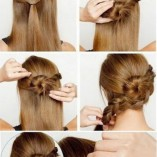 Flechtfrisuren step by step