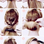 Frisuren step by step