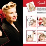 Pin up style haare