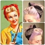 Rockabilly kurzhaarfrisuren frauen