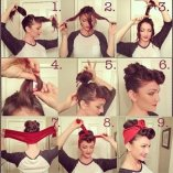 Rockabilly style frisuren frauen