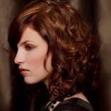 Frisuren mittellang locken