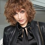 Locken frisuren kurz 2018