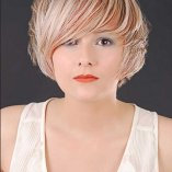 Frisuren kurz damen blond