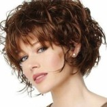 Locken frisuren kurz 2016