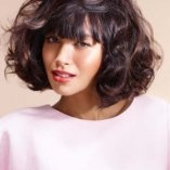 Frisuren bob mit locken